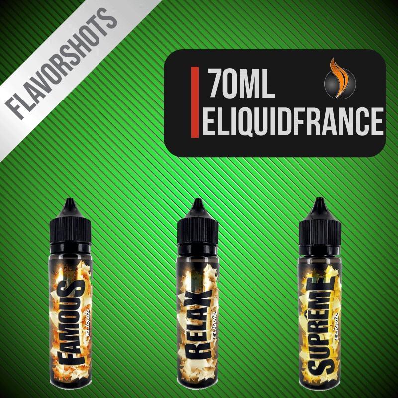 Eliquid France Flavour Shots 70ml