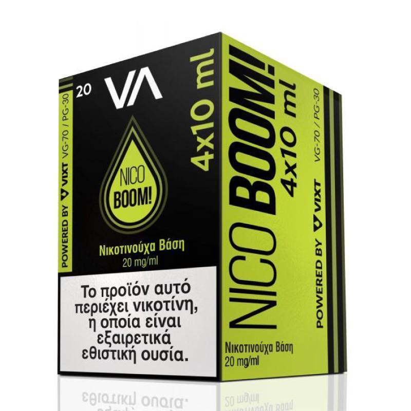 Innovation Nico Boom 20mg/ml 4x10ml