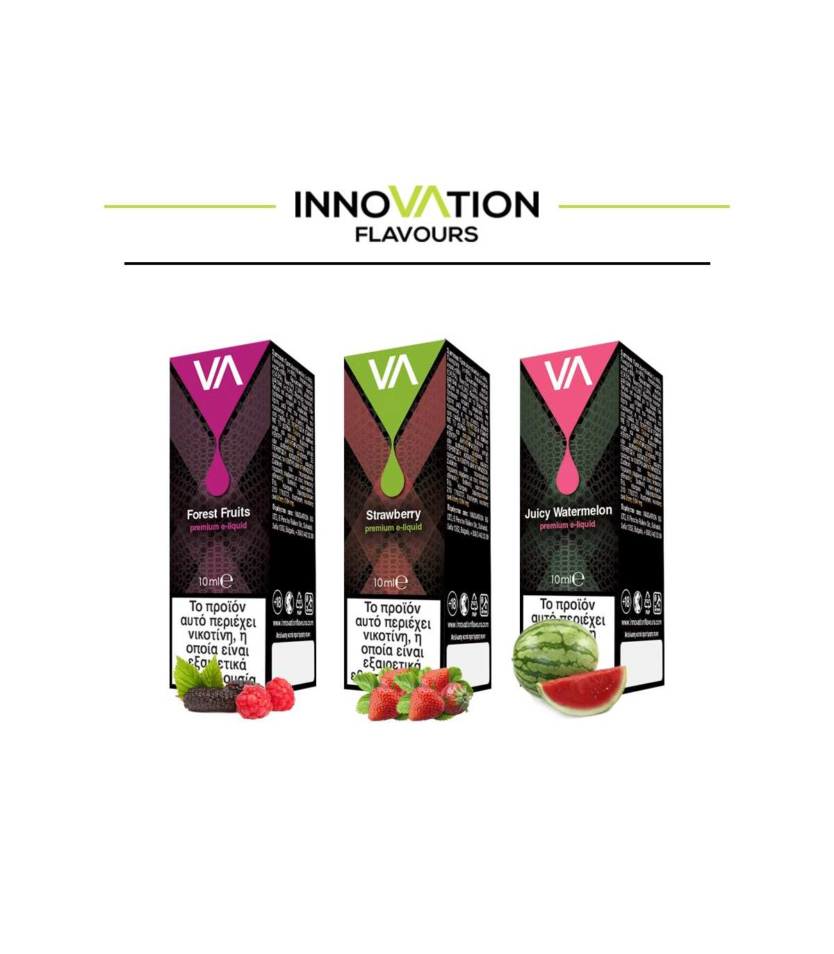 Υγρά αναπλήρωσης - eLiquids - Innovation Chocolate - Vapebay